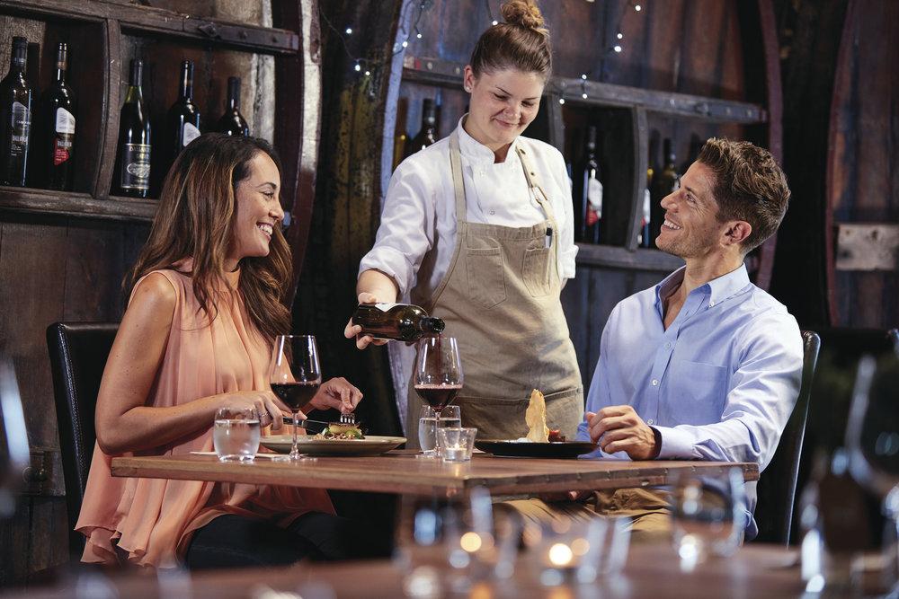 Romantic Wine and Dine