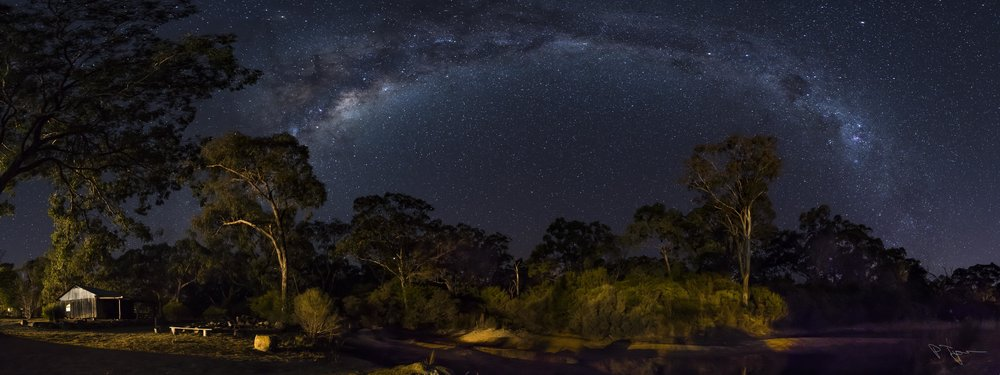 Milky Way across Diamondvale by guest Phil Tyrer