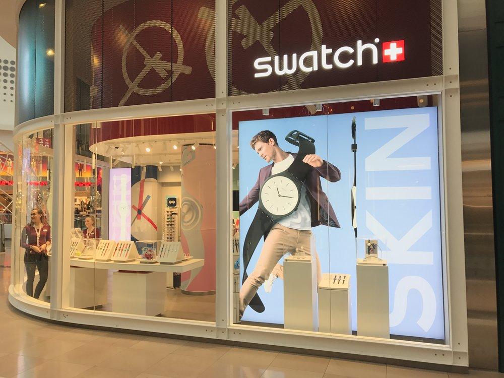 Premium Delta Series - Swatch Chadstone Store Front