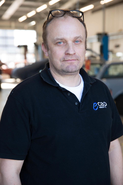 Pawel Pokrywinski | Projektingenieur  ppo@ecap-mobility.com