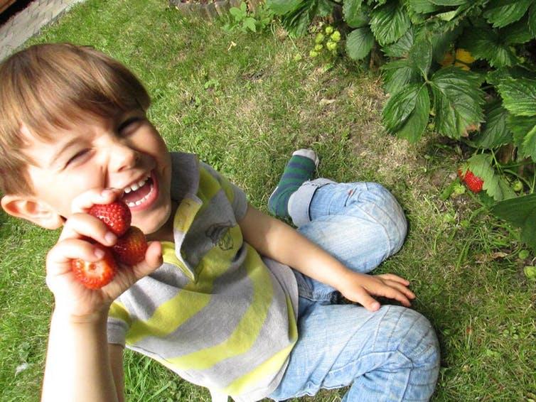 Growing your own makes you happier. Laura Alvarez