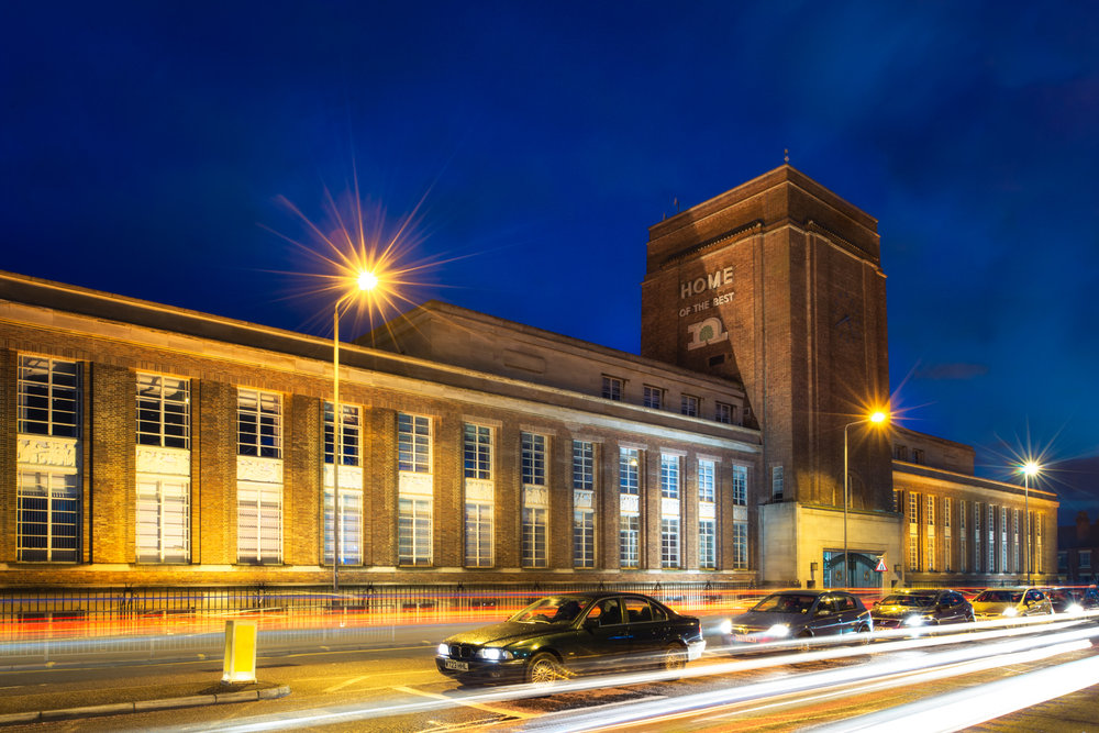 Pictured by Lamar - Photographic Exhibition of Nottingham's Architecture