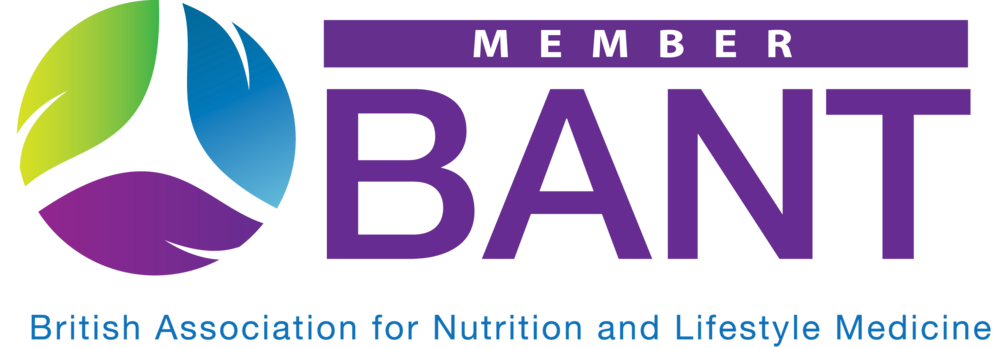 Member of BANT British Association of Nutrition and Lifestyle Medicine