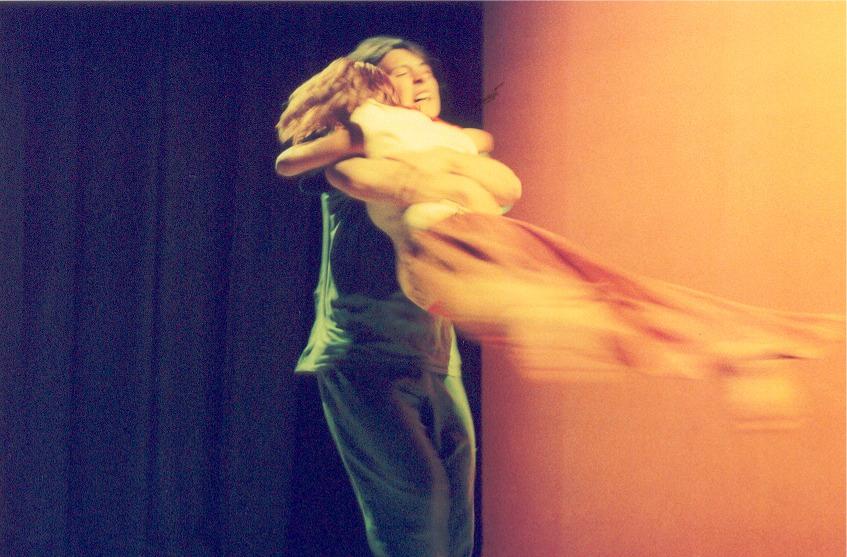 Lukas Spisser als Woyzeck mit Miriam Kaser als Marie