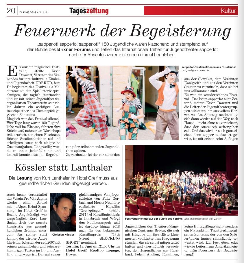 2018 06 12 Tageszeitung sapperlot.jpeg