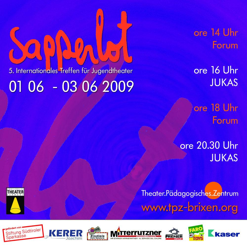 2009 sapperlot Plakat.jpg