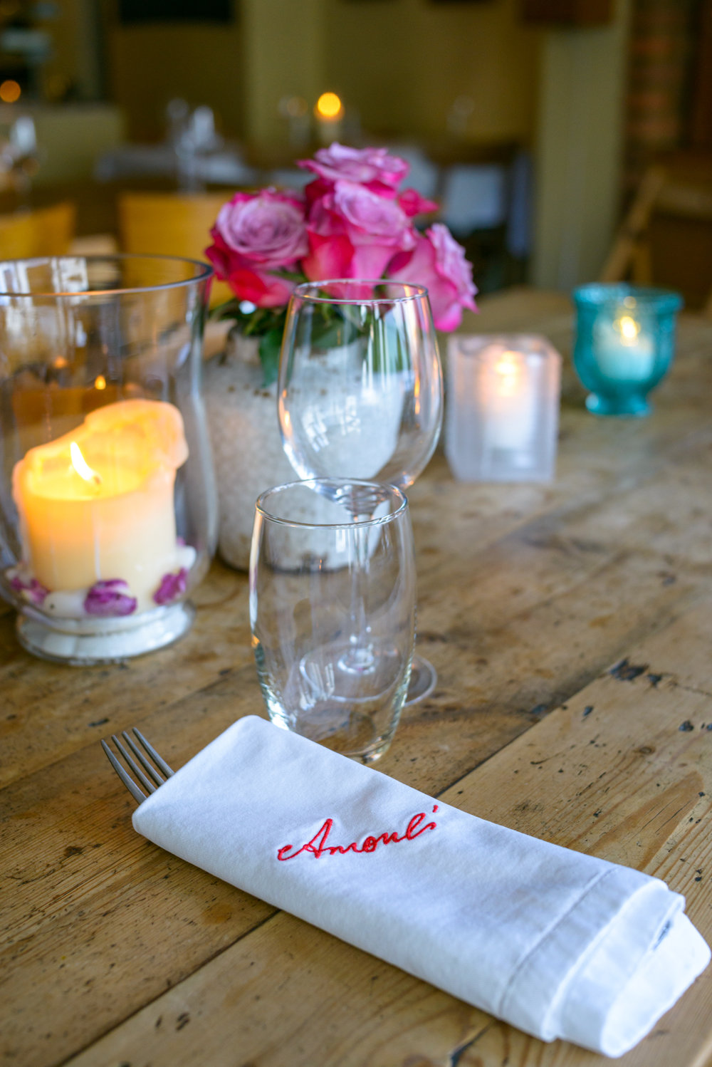 - Amoul's was an independent business that opened it's doors to the public back in July 2003.The shared dining table was central to the feel of home, where customers enjoyed what I cooked for them. Cooking for me is a great love and pleasure and I wanted Amoul's to feel like it was an extension of my home.I am a mother first and foremost; when my children were born I had the luxury and pleasure to stay at home and raise them. I believe that food and love are two essential forms of nourishment that are crucial for building healthy societies, both physically and mentally. To some people this might be a simplistic approach, but my place was built on these two beliefs, they were the main threads that went through the whole weave that made the place feel like home to our treasured customers who understood the concept and appreciated it.I come from Marjayoune in the south of Lebanon so my recipes come from my home. All the recipes are infused with memories. Each recipe is special to me, it is either given to me by my mother, my father, a dear friend or people that touched my life and still remain in my heart.Preserving our culinary traditions is a way of preserving our culture . Food for me is an important human need that unites people together, whether it is a family meal, or an elaborate celebration. Food is a defining factor of our identity, of the the people we are and where we came from.