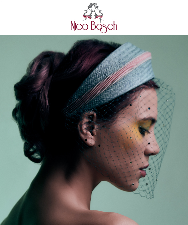 NICO BOSCH DESIGN   Nicolette Bosch is a London-based designer born in South Africa. We collaborate to create social media content about her SS 2018 collection. The Nico Bosch brand was established in 2011 with the aim of bringing new influence, diversity and a personal flare to millinery.