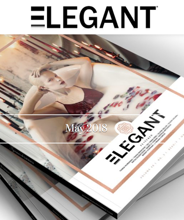 "ELEGANT MAGAZINE   Launched in May 2013, Elegant is a Fashion, Beauty, Editorial and Conceptual art magazine that is published monthly in digital format as well as Print. They published my editorial story ""Strangers"" for the print Issue, May 2018."