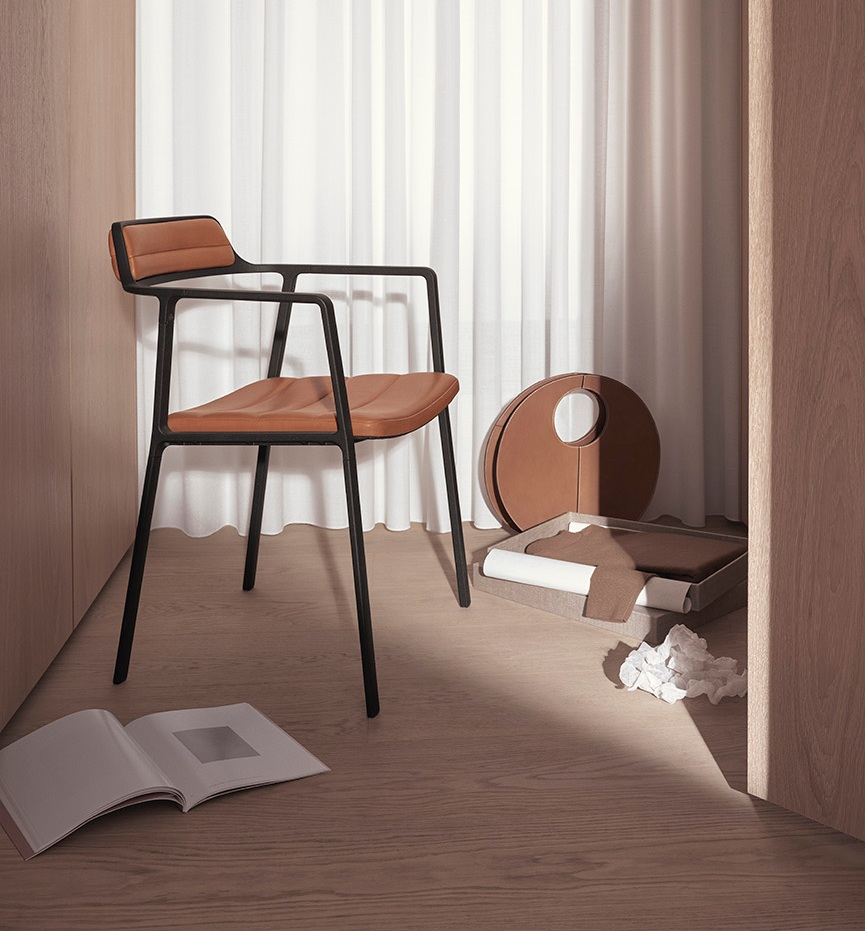 Design - Vipp released their first new chair.