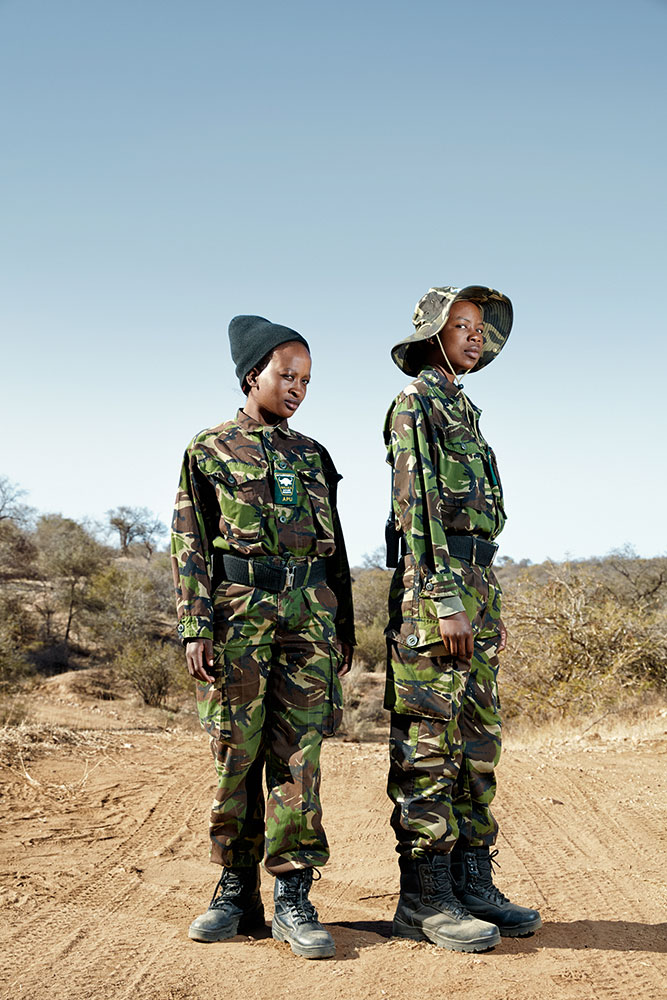 Black Mambas Felicia (left) & Joy