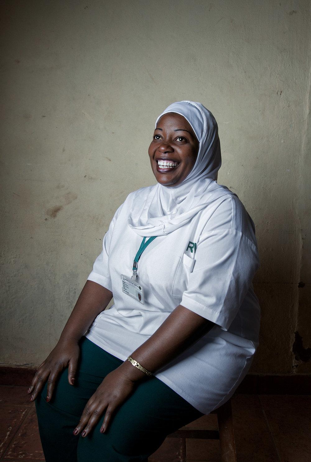 Nurse Fatunia