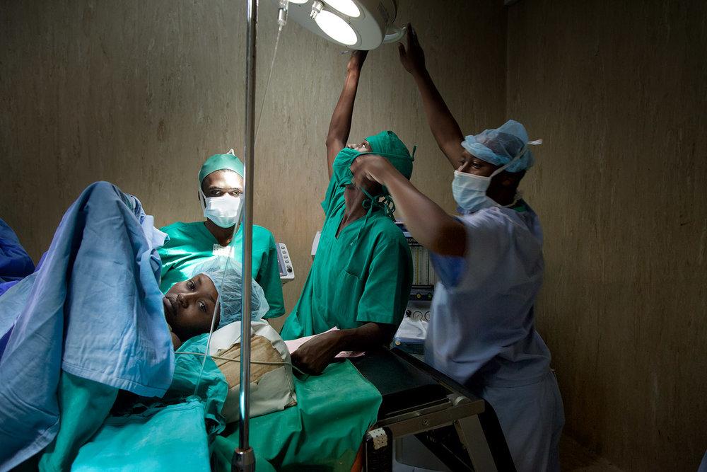 A fistula patient