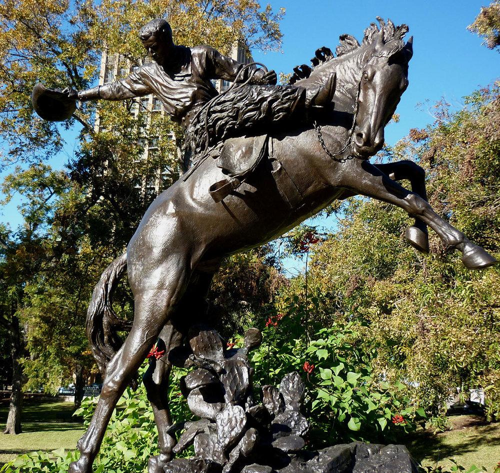 Texas Capitol Sculptures