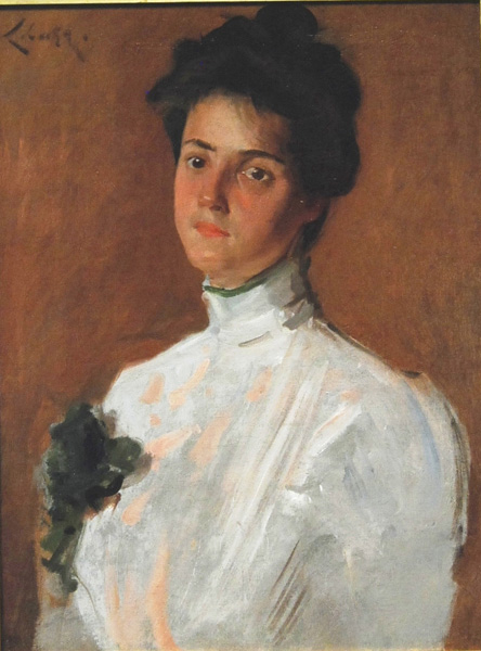 William Merrit Chase Painting