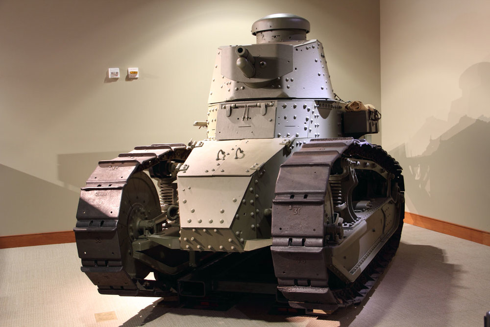 WWI M1917 Tank