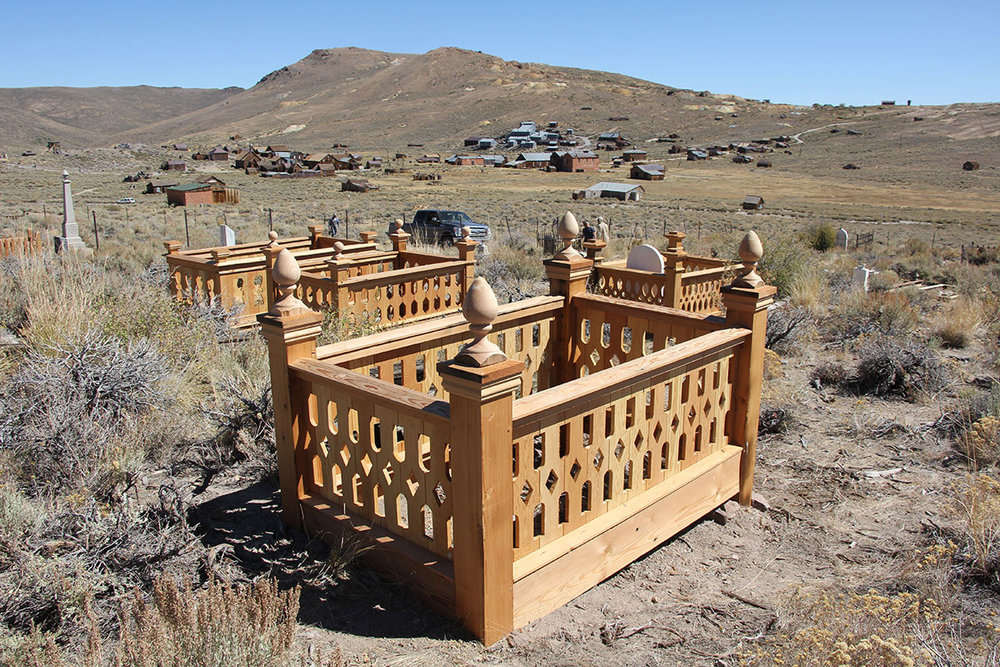 Bodie Ghost Town Cemetary