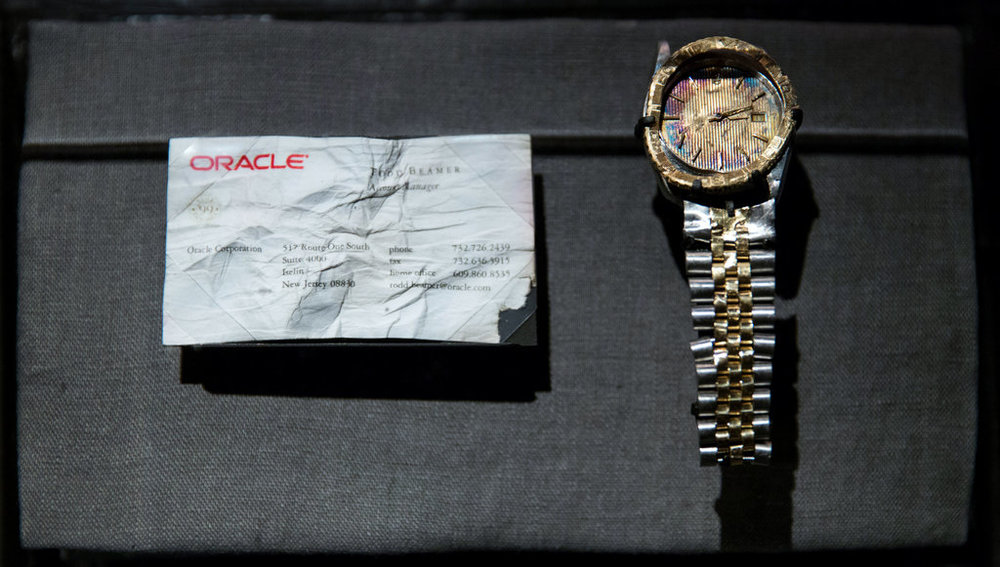 Watch from September 11 Memorial and Museum