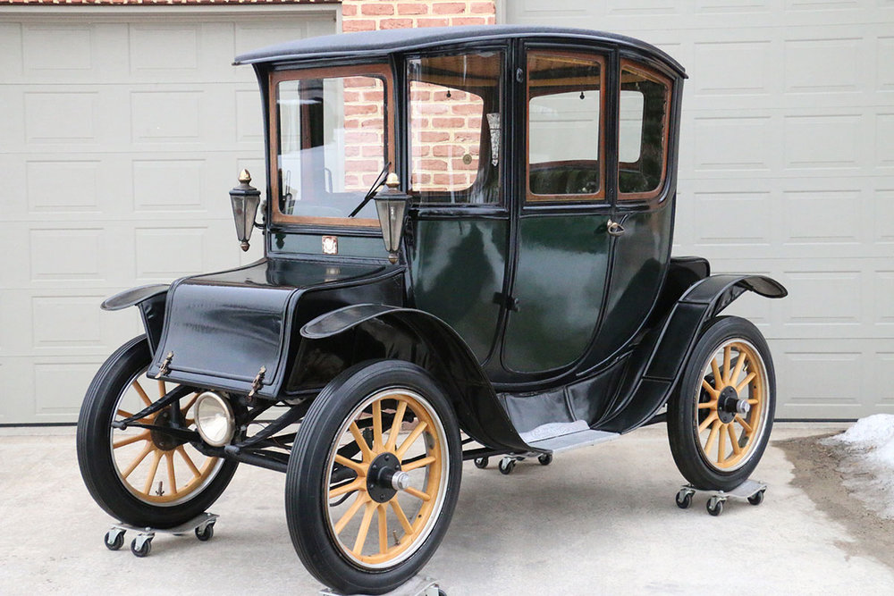 1915 Fritchle Electric Colonial Coupe #283