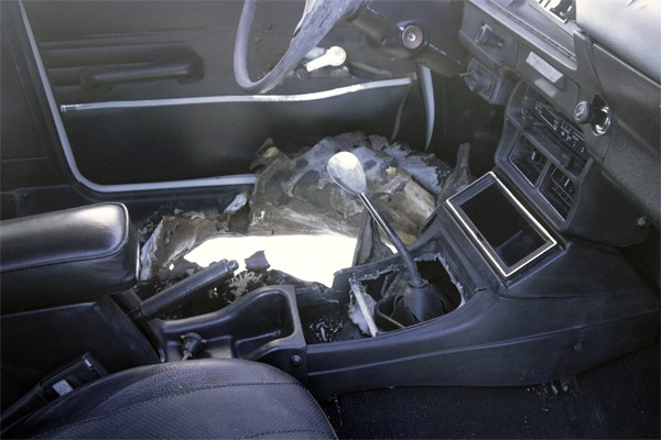 Interior after