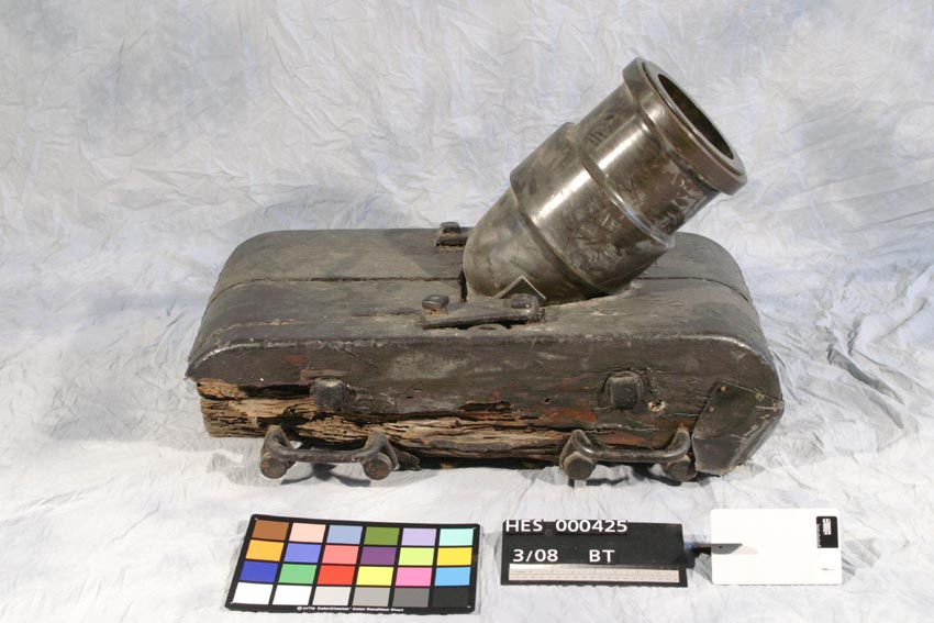 Coehorn Mortar Before