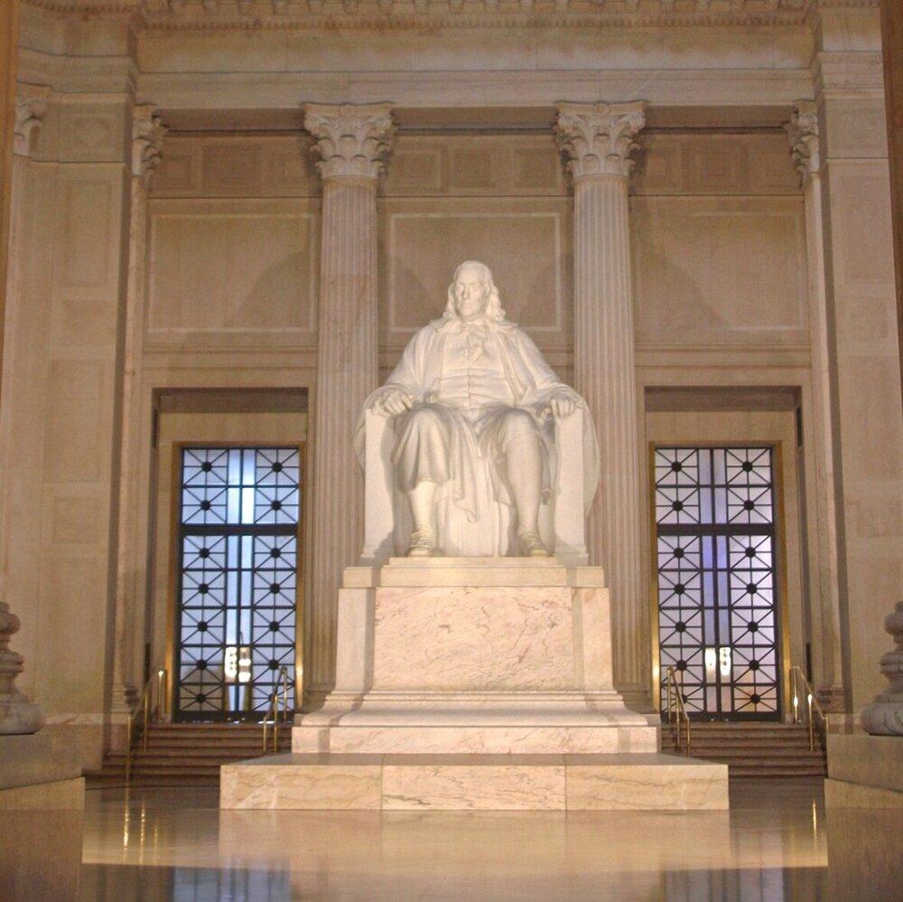 Ben Franklin National Monument