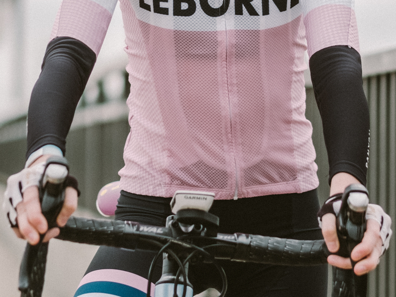 "Canyon SRAM Arm Warmers:  ""They were given to me by Leah Thorvilson. I'm never giving these up.""  Priceless"