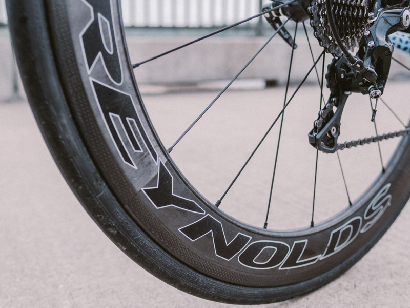 """Reynolds Wheels:  """"They're nice and light.""""  $1549"""
