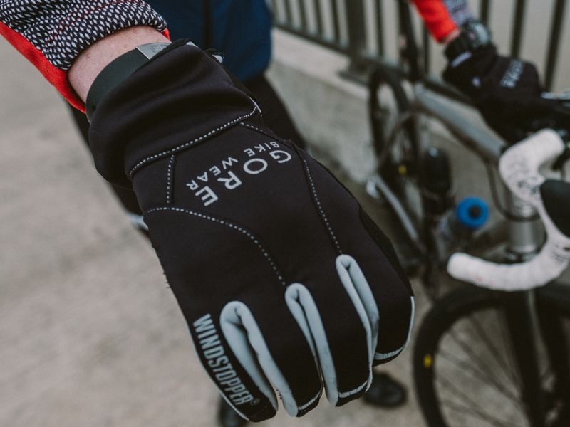 """Gore Bike Wear Gloves:  """"They're windproof. Enough said."""" $49.95"""