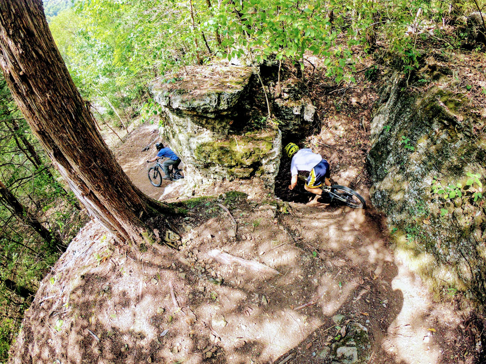 By April, The Great Passion Play plans to have 25-26 miles of mountain bike trail open to the public.