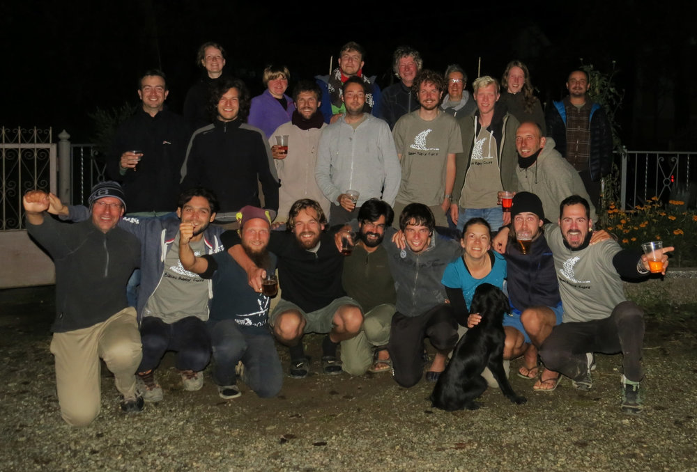 Happy counters after 1800+ Eagle Day. Photo by Nuri (after many attempts).