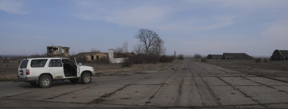 Soviet airbase in Shiraki Plain (Hugh Jansman)