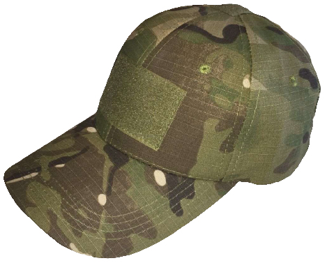 MULTICAM HAT WITH VELCRO