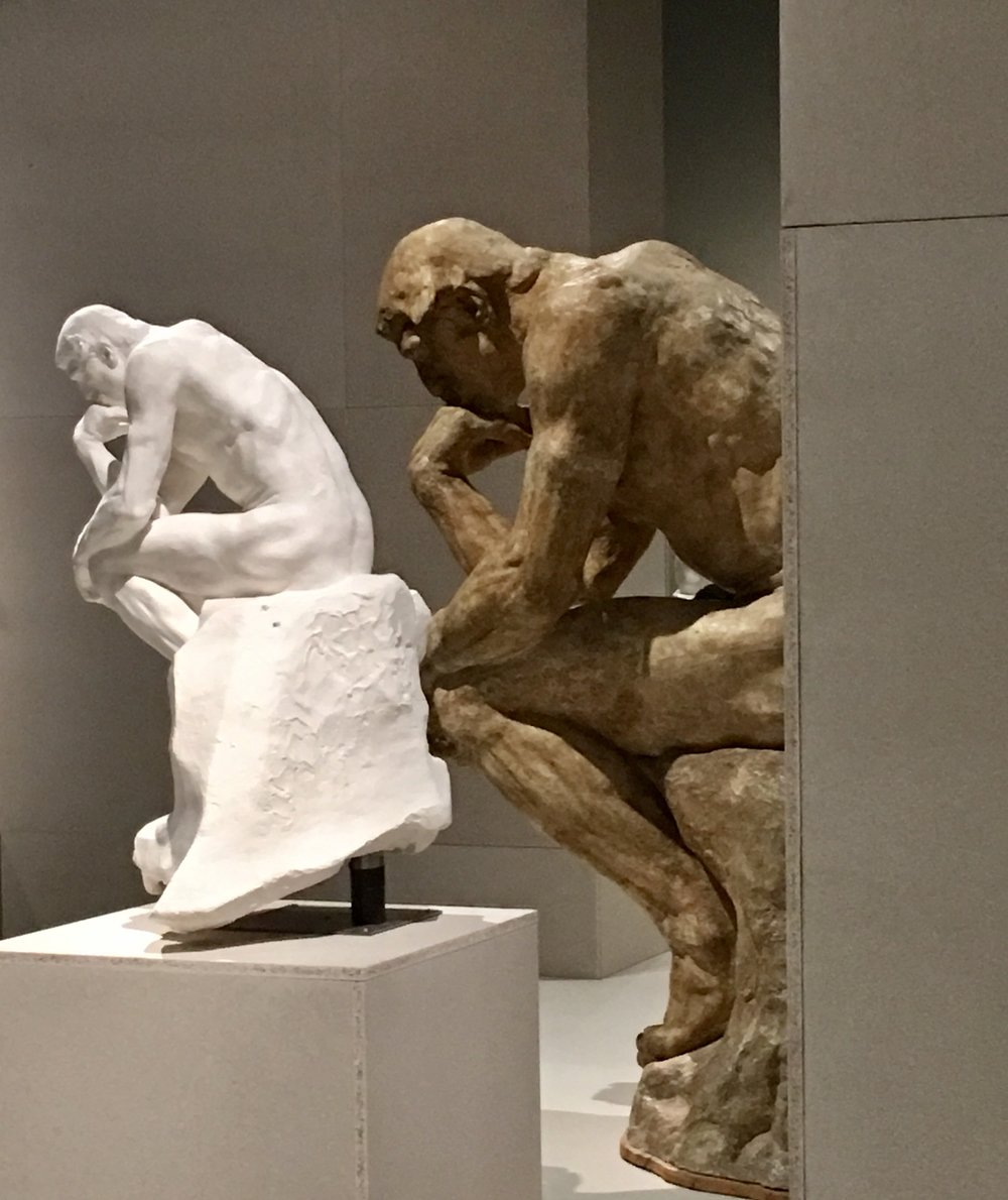RODIN  - AT THE BRITISH MUSEUM