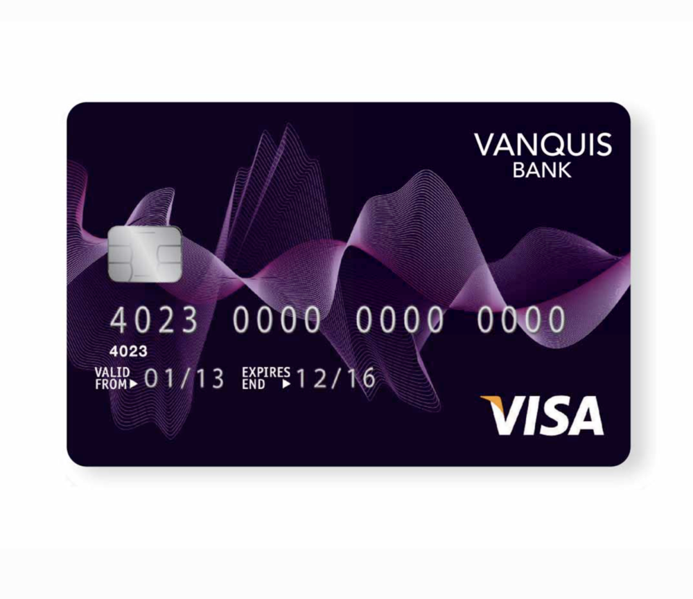 BRANDING AND COMMUNICATIONS FOR VANQUIS BANK.
