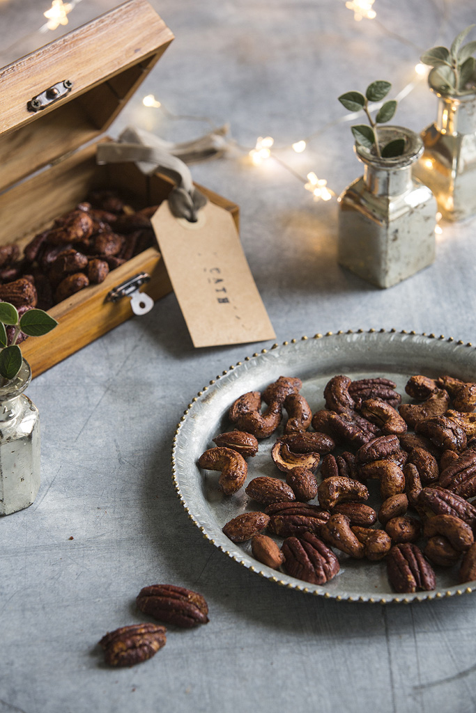 spiced nuts simple things