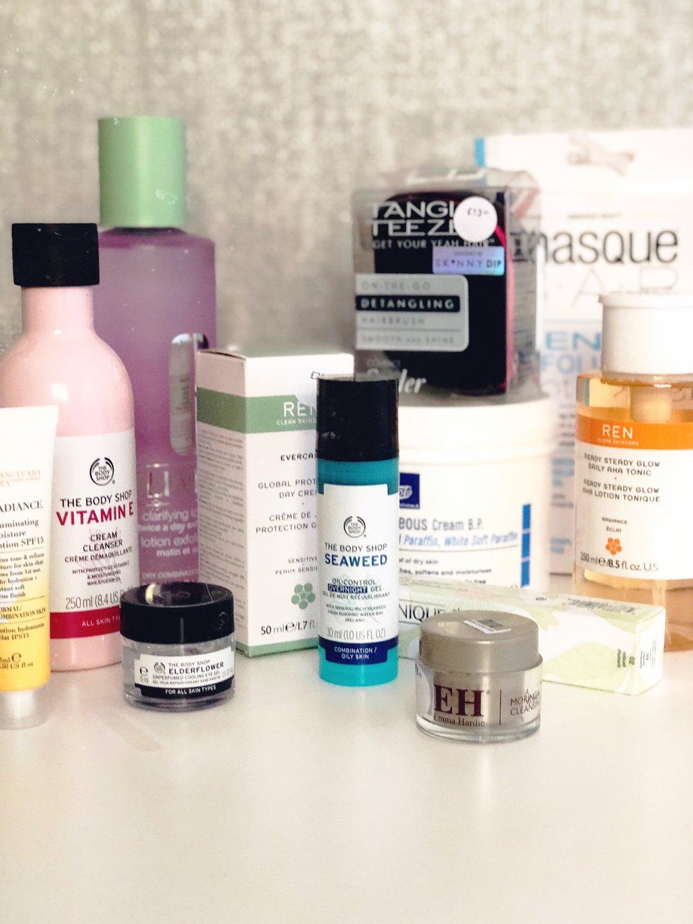 The Biggest Skincare Haul