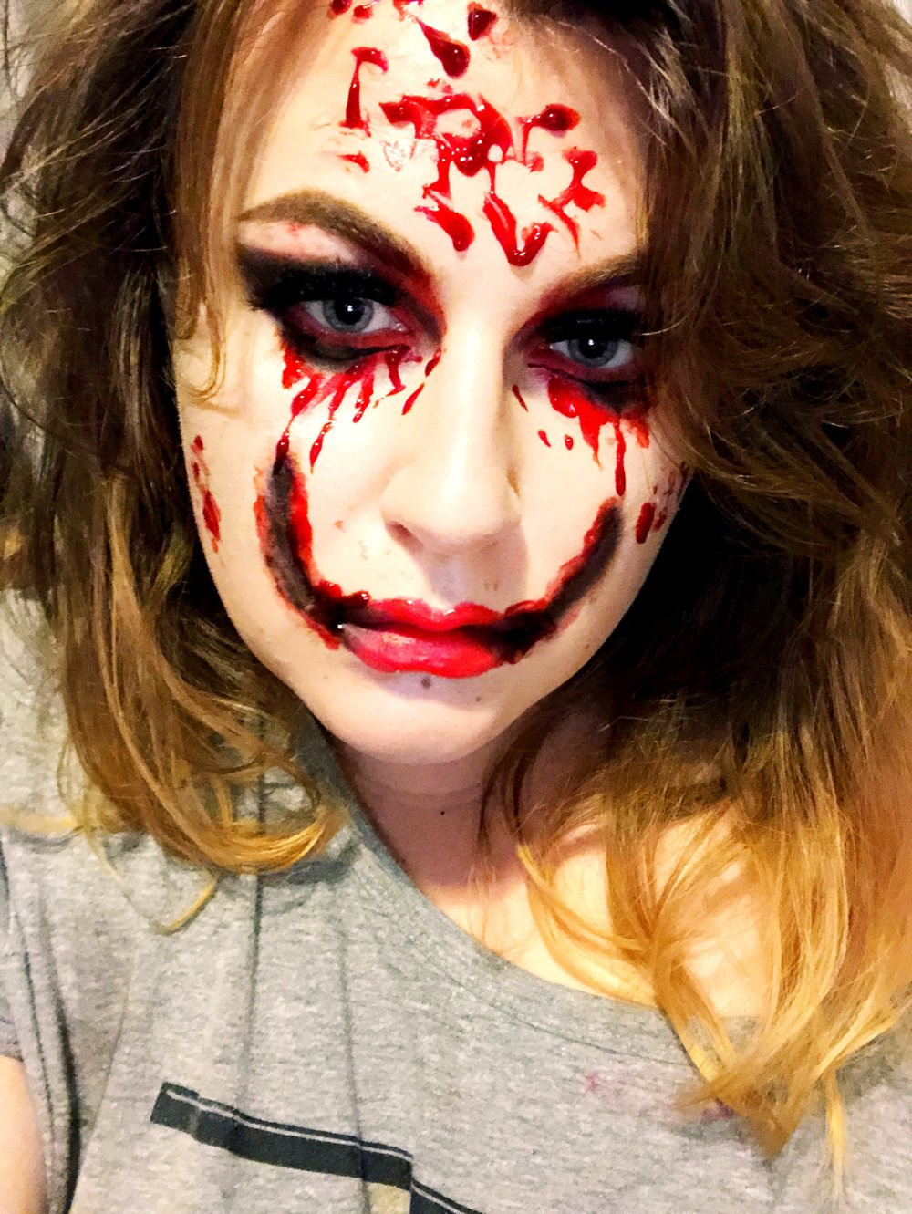 the only mildly spooky look I managed to create all month