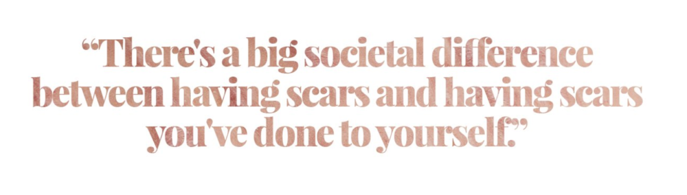 My words, design taken from the Refinery29 website