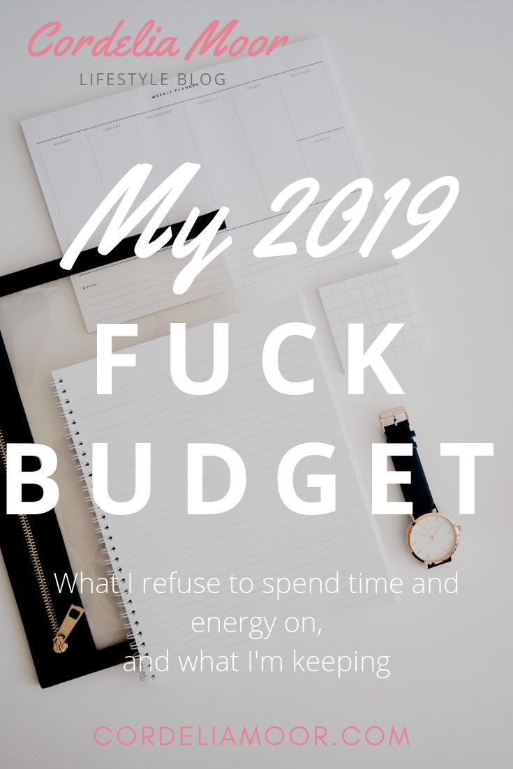 2019 Fuck Budget Pinterest