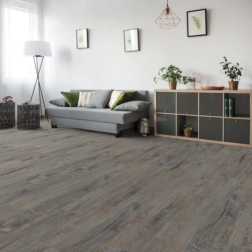 Charcoal Rustic Oak