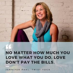 Jennifer Pahl of Twist Yoga