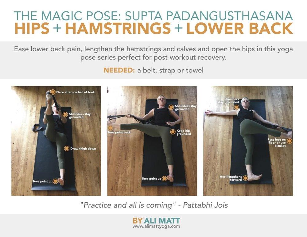 Twist yoga post for athletes