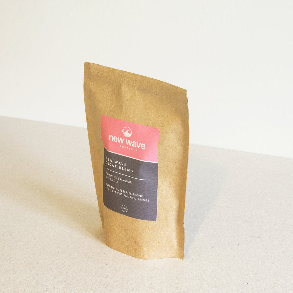 Colourful, minimalist coffee packaging design and logo design.