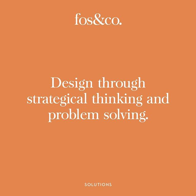 We believe in a solid foundation of quality time spent planning and problem solving before tackling a rebrand or new business plan. Feel free to get in contact with us either though and email (see bio) or a direct message here to find out how we approach our branding strategies for clients. ⠀ .⠀ .⠀ .⠀ #rebranding #brandidentity #designstudio #brandstrategy #problemsolving #identitydesign
