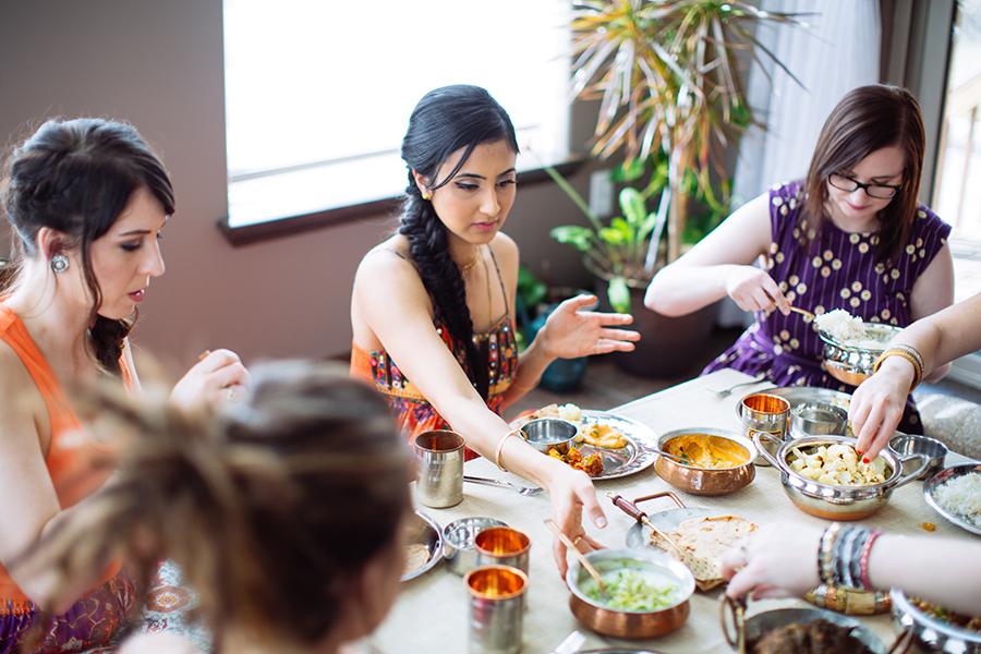 Nita Sharda, Carrots and Cake