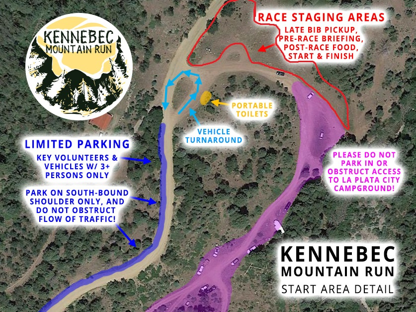 Start Area Detail Map (click to enlarge).
