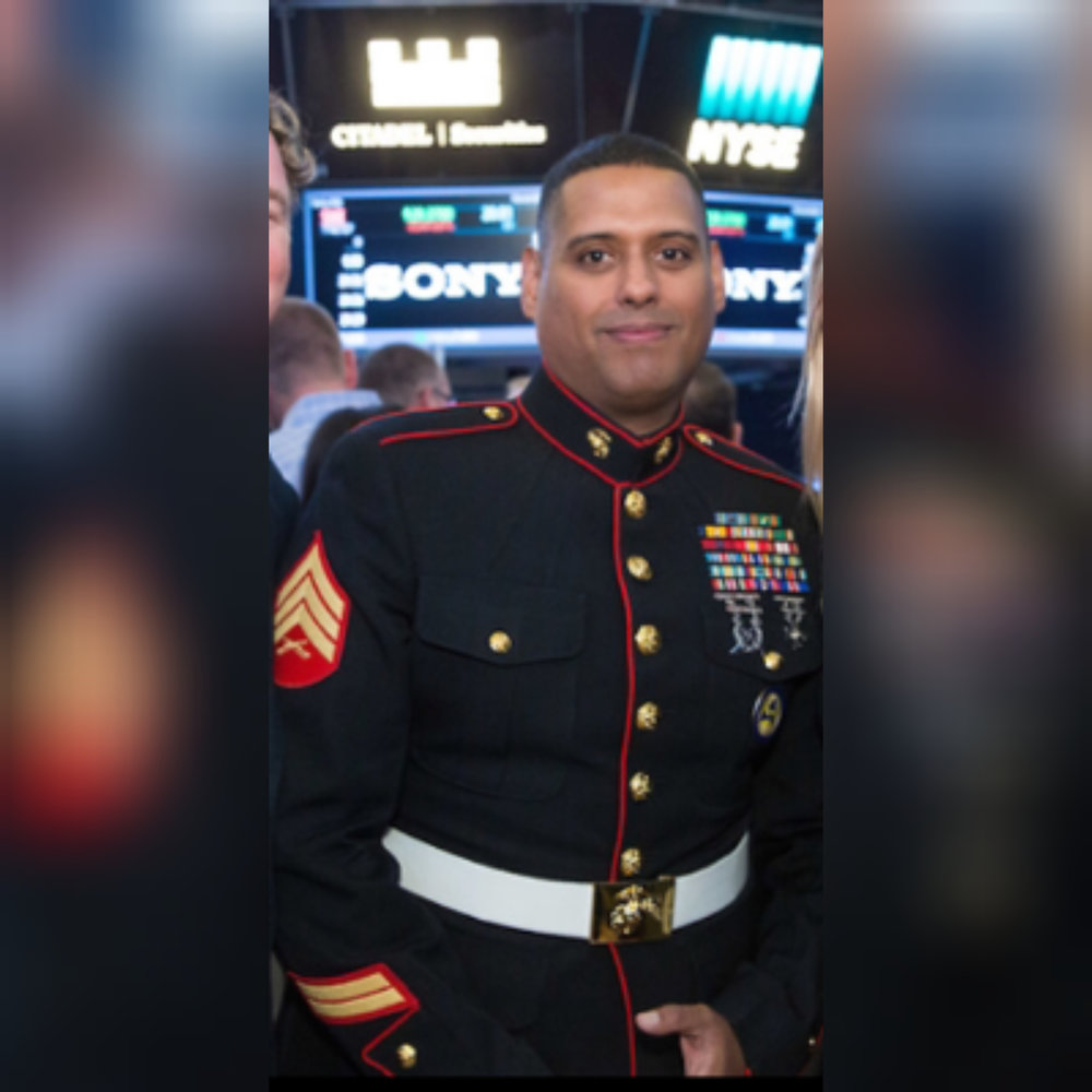 Sergeant Eugenio Oliva USMC:I already dropped 110lbs using what I learned with Lamar. I'm even back in my uniform. -