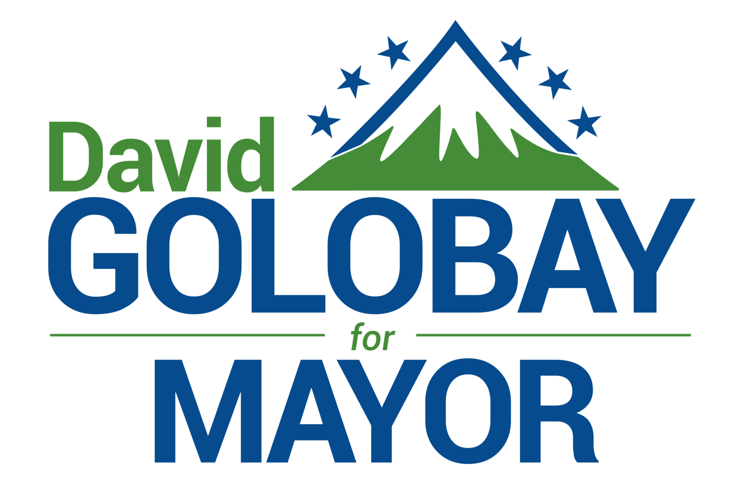 David Golobay for Mayor