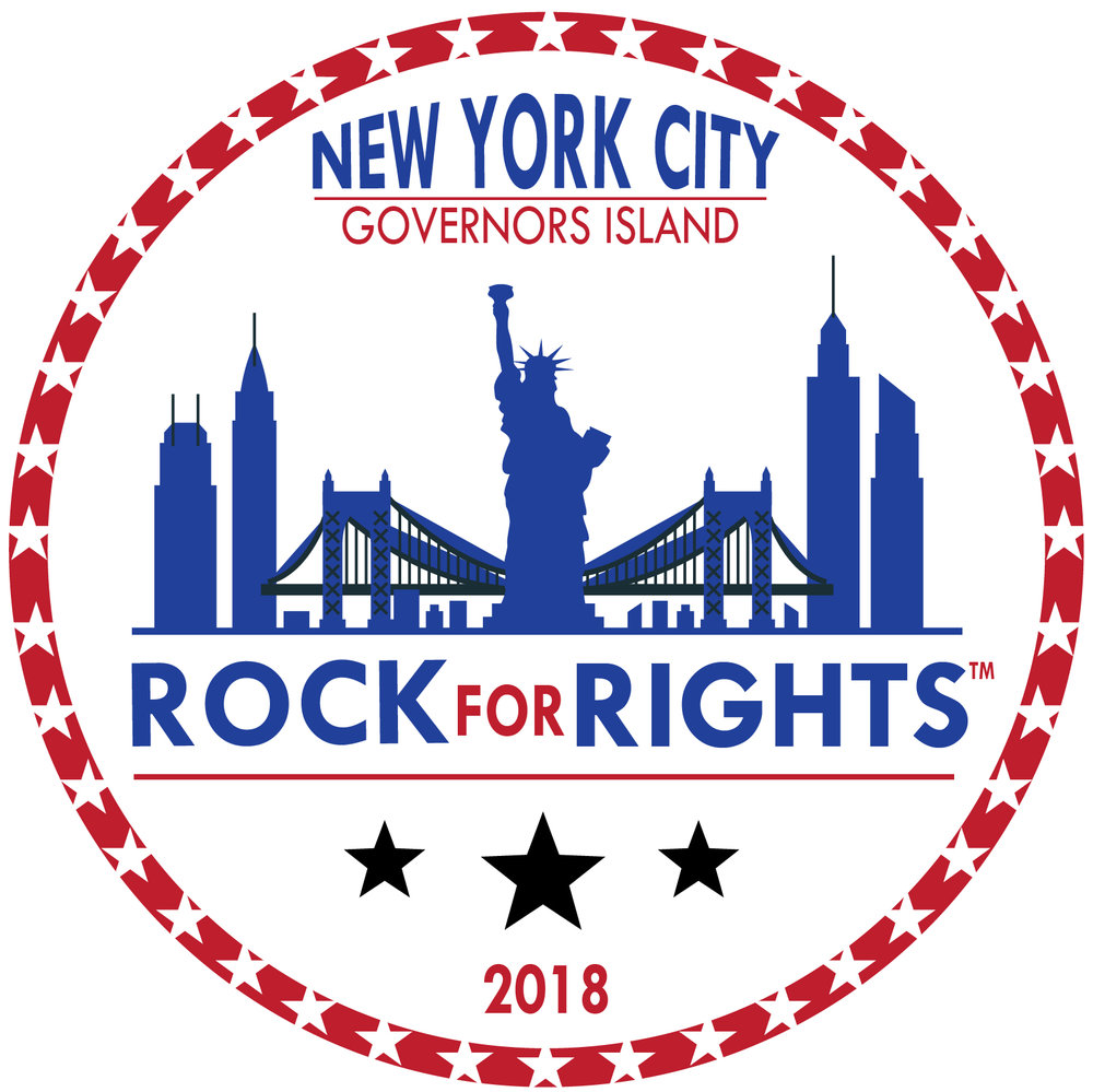 AN UNCONVENTIONALNONPARTISANCONCERT RALLY - ROCK FOR RIGHTSPREMIERING ON GOVERNORS ISLANDNEW YORK CITY, 2019